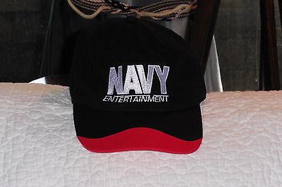 """Navy Entertainment- Morale Welfare & Recreation"" Hat Official item"
