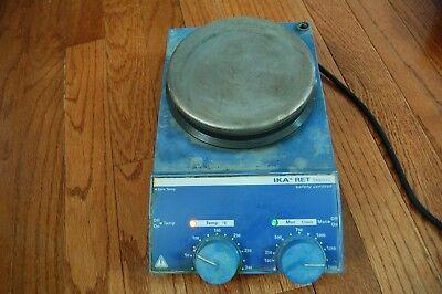 Ika Werke Ret Basic Hotplate Hot Plate Stirrer Magnetic Safety Control