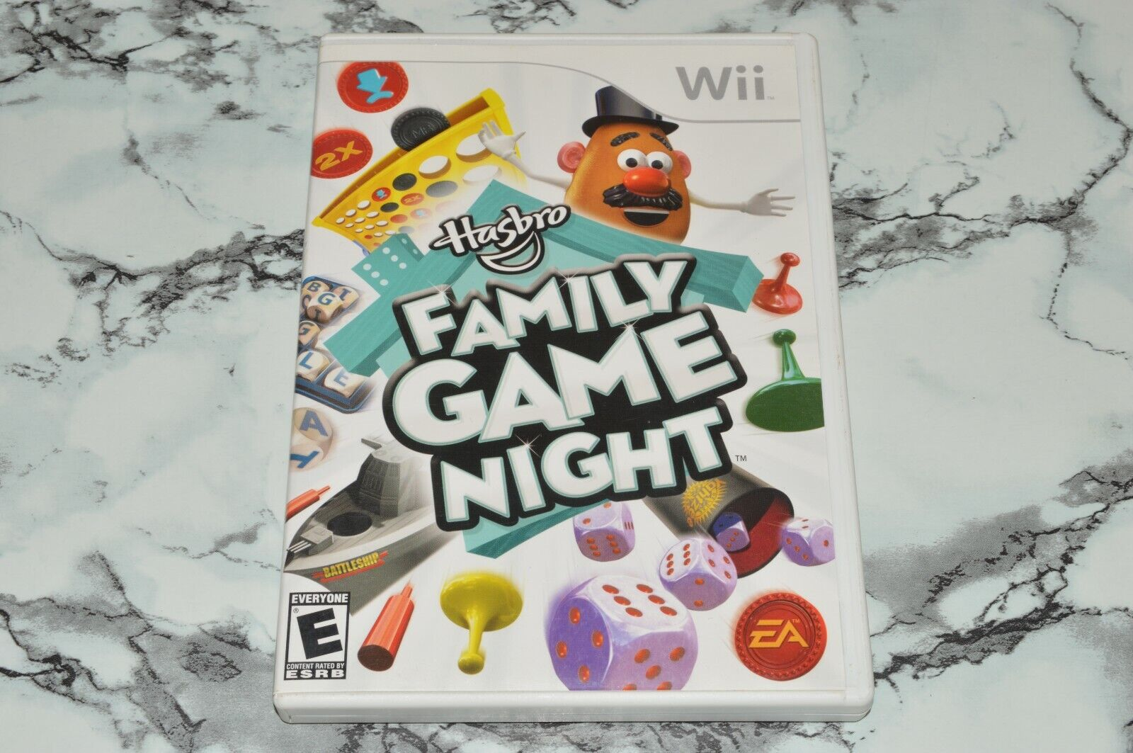 Hasbro Family Game Night Nintendo Wii -- Complete W/ Manual -- Please Read  - $11.18