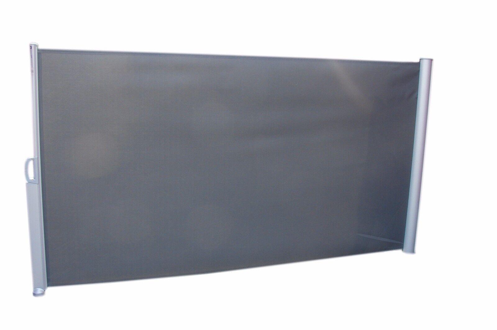 Seitenmarkise Sonnenschutz 160 x 300 Markise Sichtschutz ausziehbarer Windschutz