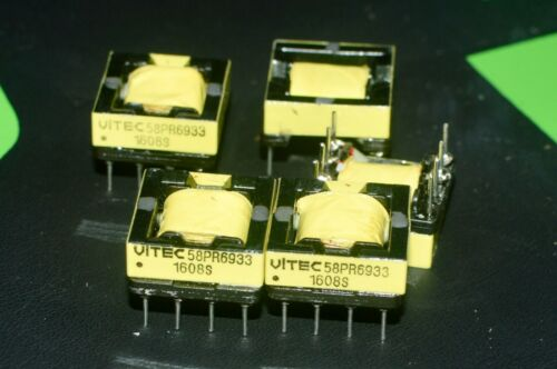 Lot of 10 Vitec 58PR6933 transformers flyback SMPS forward converter