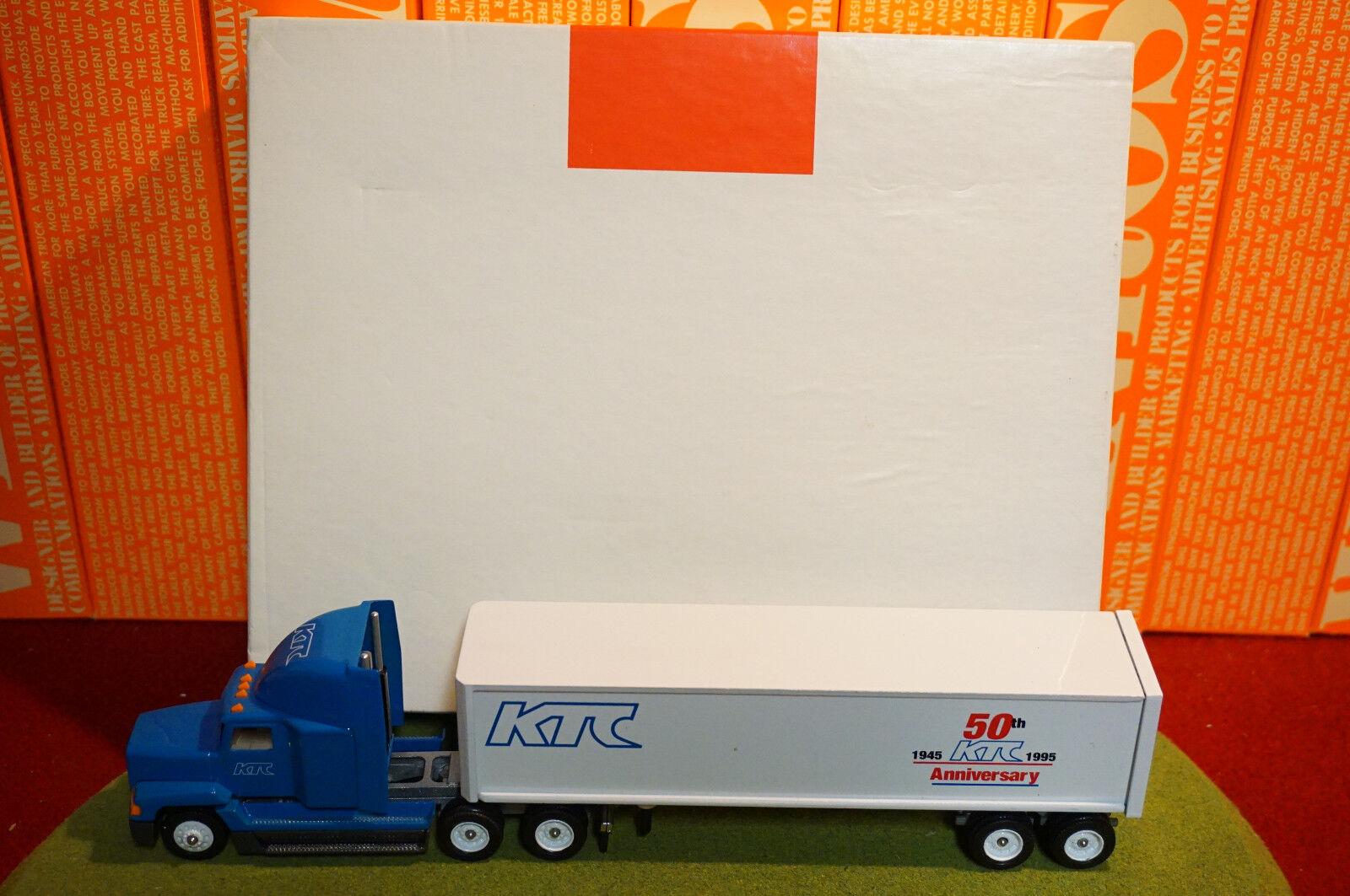 Winross Diecast 1/64 Scale Truck Kuhn Transportation (KTC) Cargo 1997