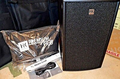 REDUCED, New Hk Audio Premium Pro PR0 210A,600W Active Subwoofer w/Cover,Unused.