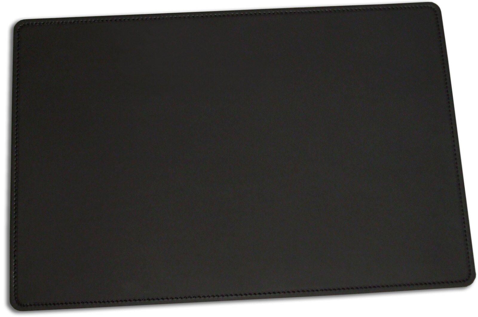 schreibunterlage schreibtischunterlage leder schwarz 60 x. Black Bedroom Furniture Sets. Home Design Ideas