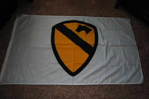 1ST CAVALRY FLAG, 3 X 5 FT