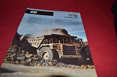 Caterpillar 777B Rock Haul Truck Dealer's Brochure DCPA4