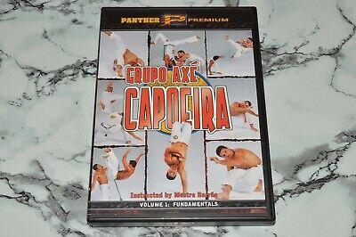 Grupo Axe Capoeira - Volume 1 - Fundamentals - Instructed By Mestre Barrao (DVD)