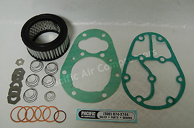 Kellogg American 360 Head Overhaul Kit Gaskets Valve Disc Air Compressor Parts