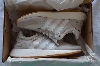 Adidas Iniki Runner - Grey/White/Gum - UK size 6 - BNIB