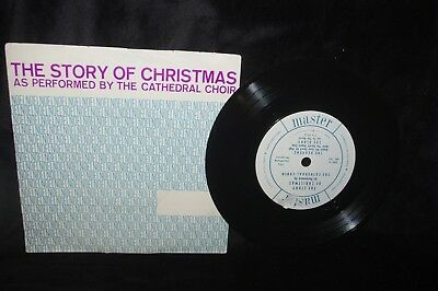 The Cathedral Choir Story Of Christmas 45 Record With Ps Pic Sleeve