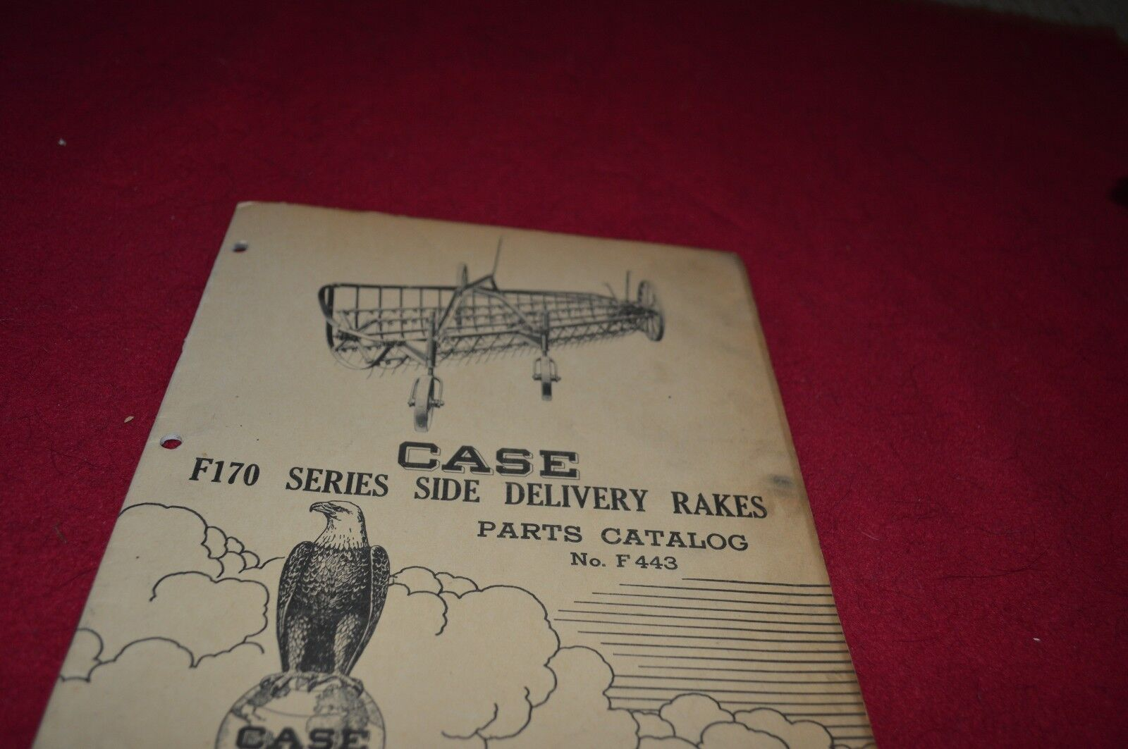 Case Tractor F170 Rake Dealers Parts Book Manual Yabe8 Ver3 Wundr Figure 614sample Wiring Diagram