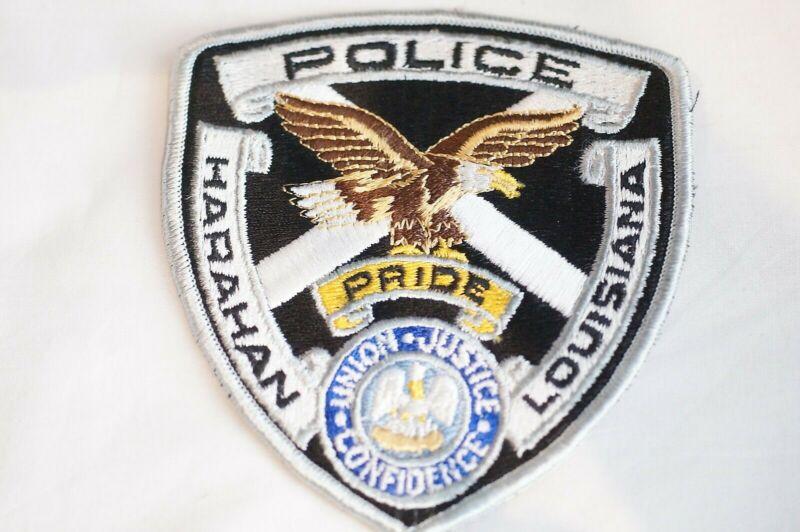 US Harahan Louisiana Police Patch
