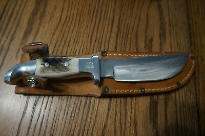 "Custom Vintage Ruana ""Skinner"" 5in. hunting knife 14B V N Hangas , almost"