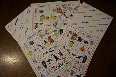 Halloween Bingo Game: Bingo Fun for Spooky Parties PDF Download