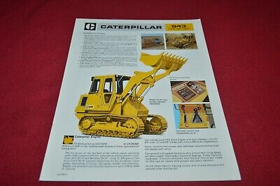 Caterpillar 943 Crawler Loader Dealer's Brochure Y