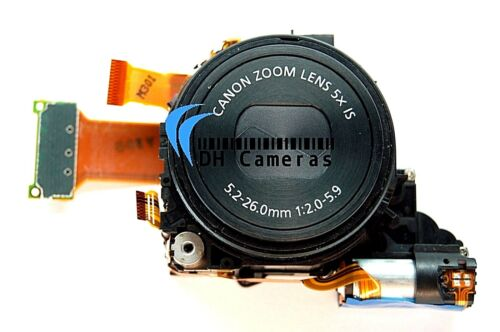 Canon PowerShot S110 Camera Lens Zoom Unit Part 5x Optical Zoom + CCD USA