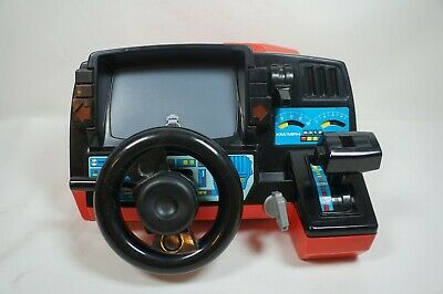 Vintage Fun to Drive Dashboard Racing Game Red Corvette Playmates 1985