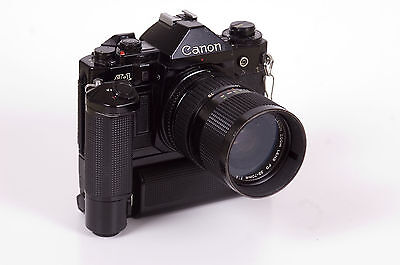 Canon A-1 with Motor Drive MA