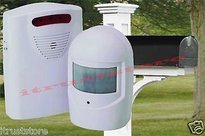 Motion Sensor Mailbox Driveway Alarm Alert Monitor
