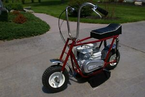 Superb Vintage Rare 1969 Lil Indian 6000 Grand Series Minibike! WOW! Rupp Taco