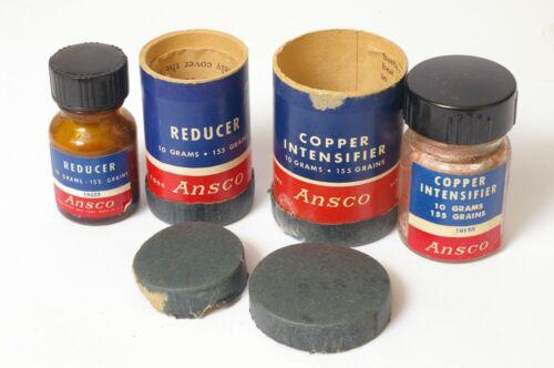 F92504~ Vintage ANSCO Darkroom Copper Intensifier & Reducer – Nice Display