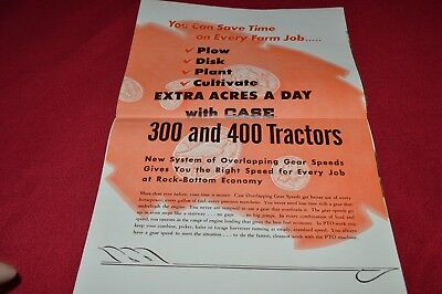 Case 300 400 Tractor Dealer's Brochure YABE15