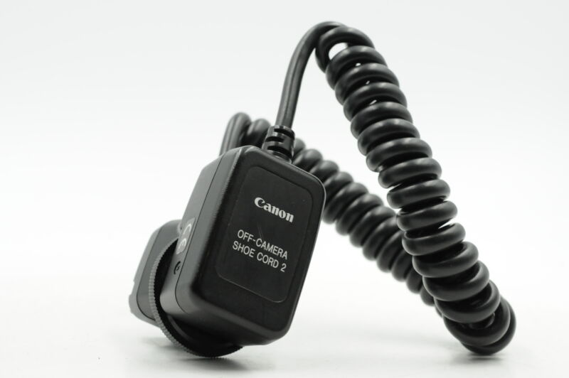 Canon Off Camera Shoe Cord 2 #206