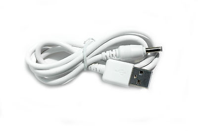 90cm USB White Charger Cable for Motorola MBP621-S Parent's Unit Baby Monitor