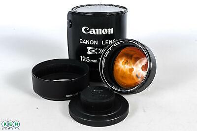 Canon 125mm F/3.5 Lens For Canon EX Auto Body {72}