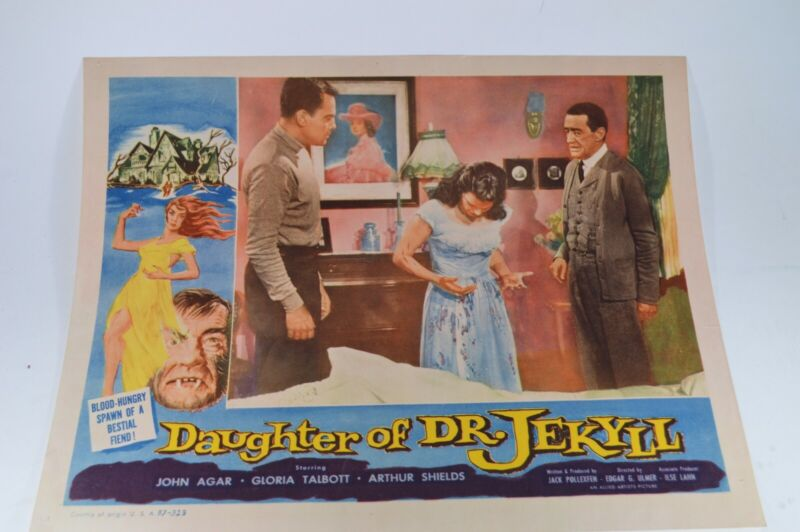 Daughter Of Dr Jekyll 1957 original lobby card 11x14 great condition