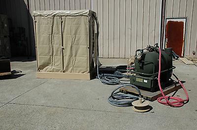 Shower Facility Bare Base, 12-man, 4510-01-163-6775