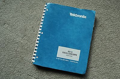 Tektronix 2213 Original Service Manual With All Schematic 070-3827-00