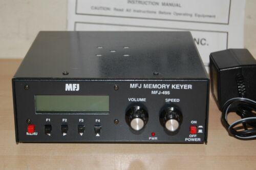 Near mint !!! MFJ MFJ-495 MEMORY KEYER