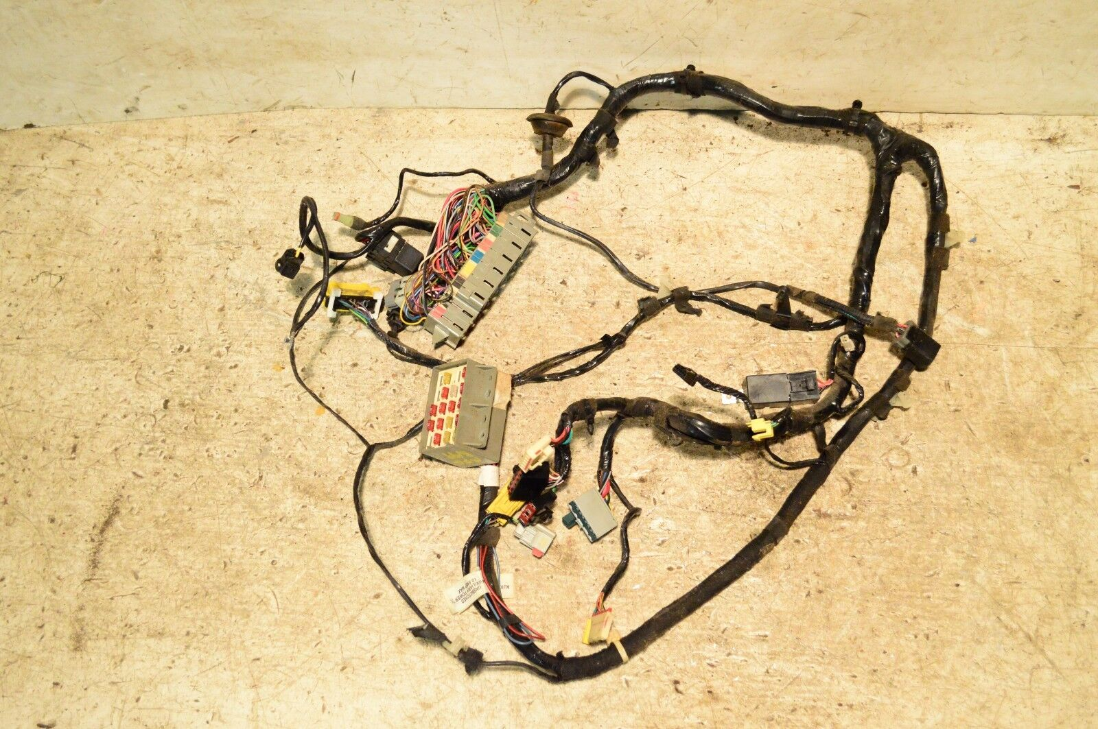 jeep wrangler tj under dash fuse box wiring harness soft top you re almost done jeep wrangler tj under dash fuse box wiring harness 2000