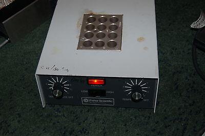 Fisher thermostat heat block dry plate hot lab dri-bath incubator heter high low