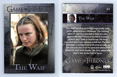 The Waif #61 Game Of Thrones Season 6 Rittenhouse 2017 Trading Card