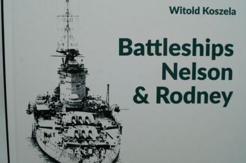 WW2 British Royal Navy RN Battleships Nelson And Rodney Reference Book