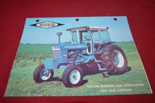 Ford Hiniker Cab For Tractor Brochure TBPA