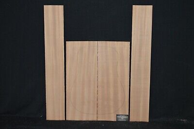 SAPELE B Grade Back and Sides Luthier Tonewood Guitar Wood Supplies SAPAGBD-000