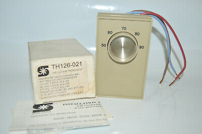 Sunne Controls Th126-021 Line Voltage Heating-cooling Thermostat 120240277 New
