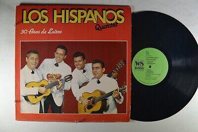 LOS HISPANOS QUARTET 30 Anos De Exitos LATIN LP
