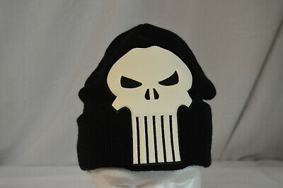 NEW MARVEL THE PUNISHER Character Skull Beanie Cap NEW WITH TAGS ](Punisher Beanie)