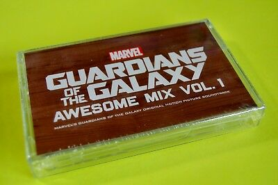 GUARDIANS OF THE GALAXY Awesome Mix Vol 1 Cassette Tape NEW 2014  (sealed)