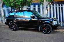 2002 Range Rover HSE 4.4L V8 Black/Tan Leather 22inch Rinspeed Marrickville Marrickville Area Preview