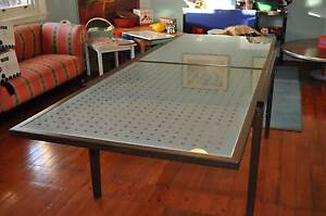 Glass Table with 6 chairs Epping Ryde Area Preview