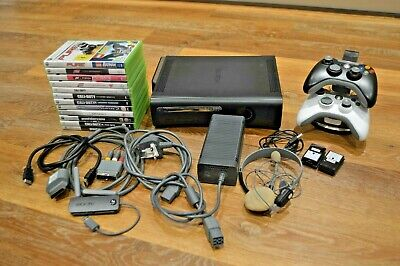 Xbox 360 Elite 120GB Black in great condition with 13 games bundle