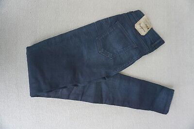 Pepe Jeans Pixie Slim Fit Skinny Stretch Trousers 27/34 W27 L34 Dark Blue New #