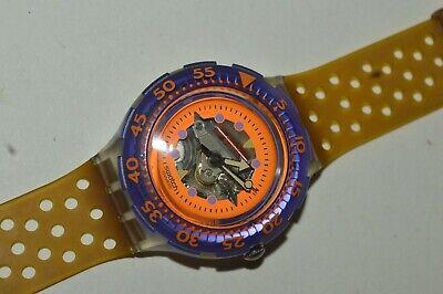 1991 Vintage Swatch SCUBA Watch SDK103 HYPPOCAMPUS Swiss Unisex Quartz Original