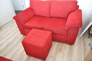 2x2 Seat lounges, 1x3 Seat lounge, 2x Ottomans Seacombe Gardens Marion Area Preview