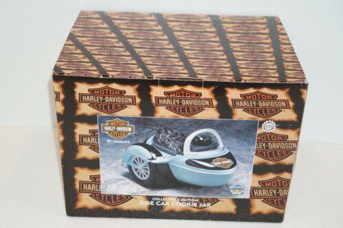 Vintage Harley Davidson Side Car Cookie Jar Vandor 1999